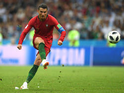 Cristiano marcó su último gol de tiro libre directo. (Foto: Getty)