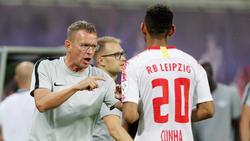 Ralf Rangnick plant nach dem Spiel in Craiova schon den Einsatz im DFB-Pokal gegen Viktoria Köln