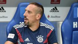 Franck Ribéry hatte persönliche Gründe, um vorzeitig das Stadion zu verlassen