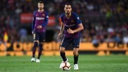 Hält dem FC Barcelona die Treue: Sergio Busquets