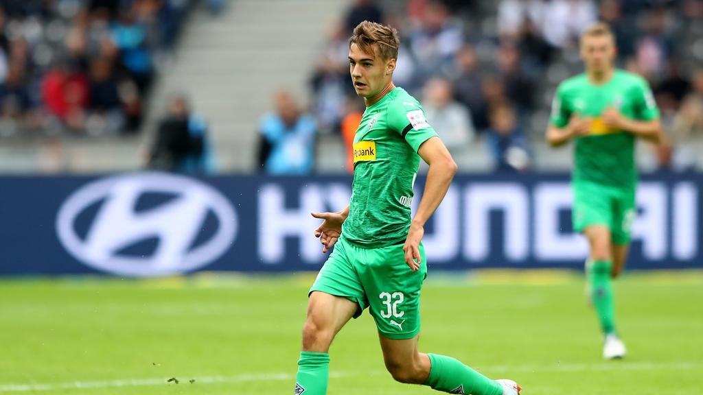 Florian Neuhaus kam bislang in jedem Bundesliga-Spiel der Saison zum Einsatz