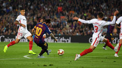 Messi lideró a los suyos hasta tener que salir lesionado. (Foto: Getty)