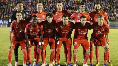 Primer once de Santiago Solari en el Real Madrid. (Foto: Imago)