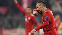 Franck Ribéry en un partido de esta semana. (Foto: Getty)