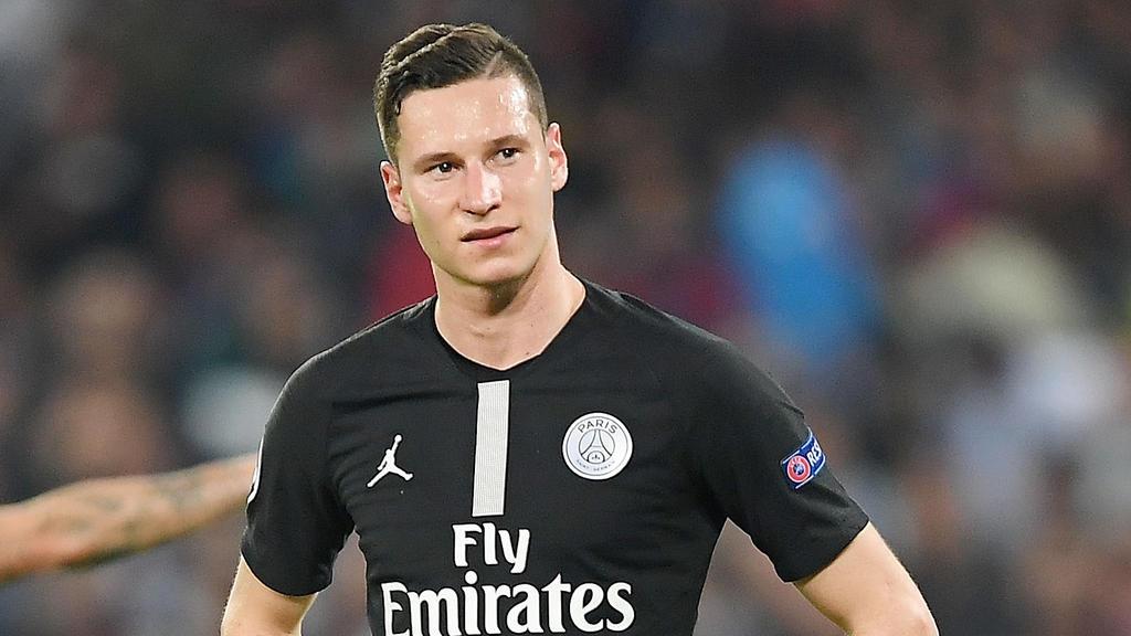 Julian Draxler und Paris Saint-Germain spielen zum zweiten Mal in Folge Remis