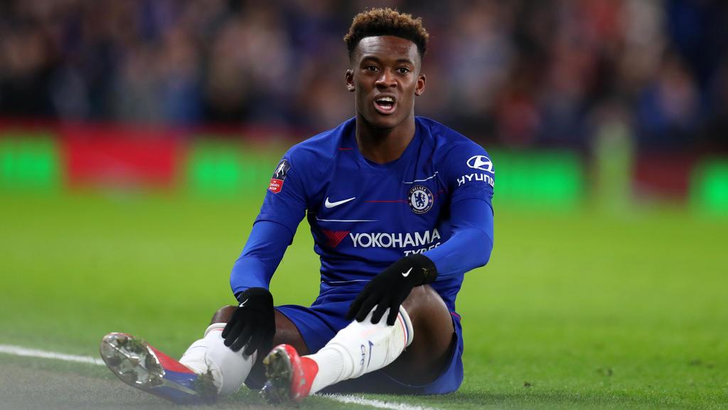 Callum Hudson-Odoi hat beim FC Chelsea noch Vertrag bis 2020