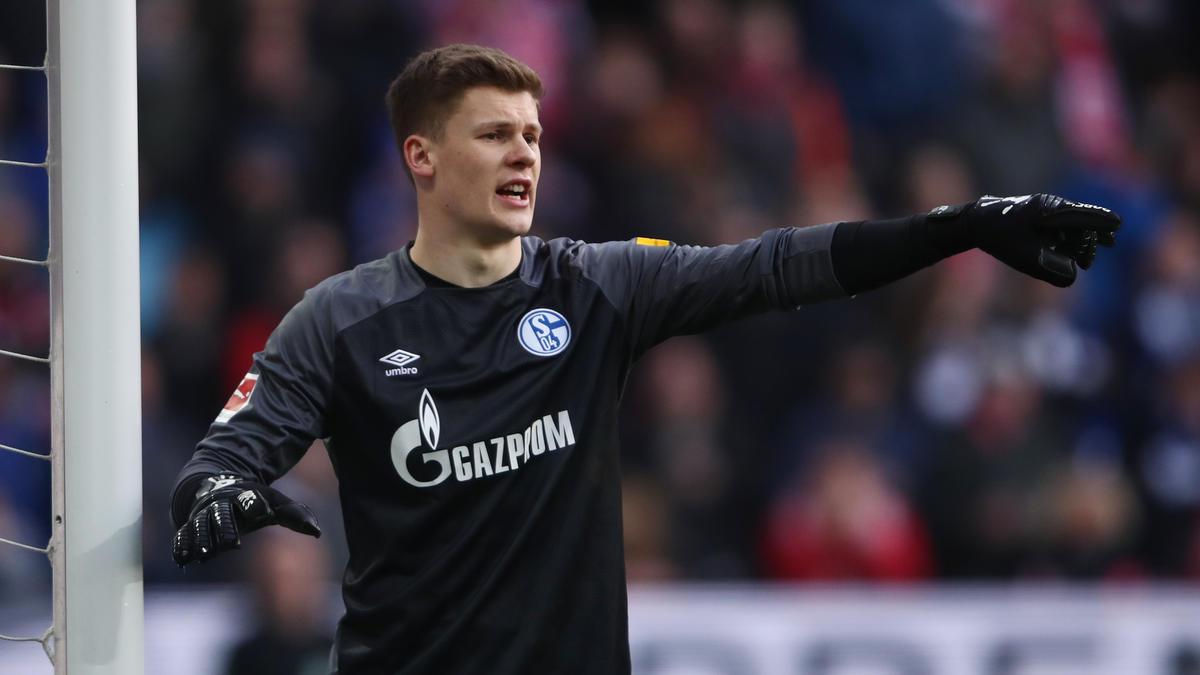 Alexander Nübel vom FC Schalke 04 wird mit dem FC Bayern in Verbindung gebracht