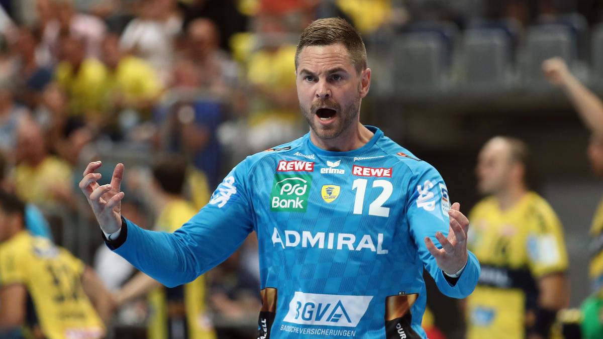 Andreas Palicka fehlt den Rhein-Neckar Löwen in der Handball-Bundesliga