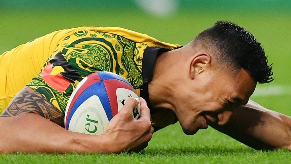 Muss eine Strafe befürchten: Rugby-Superstar Israel Folau