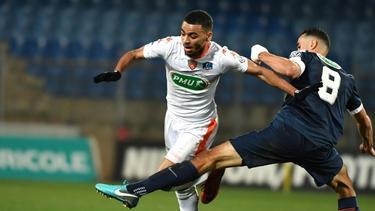 Alexis Claude-Maurice (l.) spielt beim FC Lorient