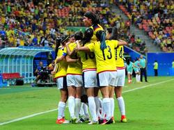 Imagen de la selección femenina de Colombia. (Foto: Getty)