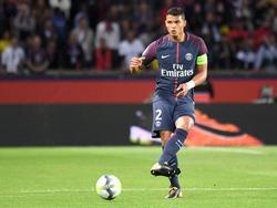 Thiago Silva se ha hecho fuerte en el eje de la zaga parisina. (Foto: Imago)