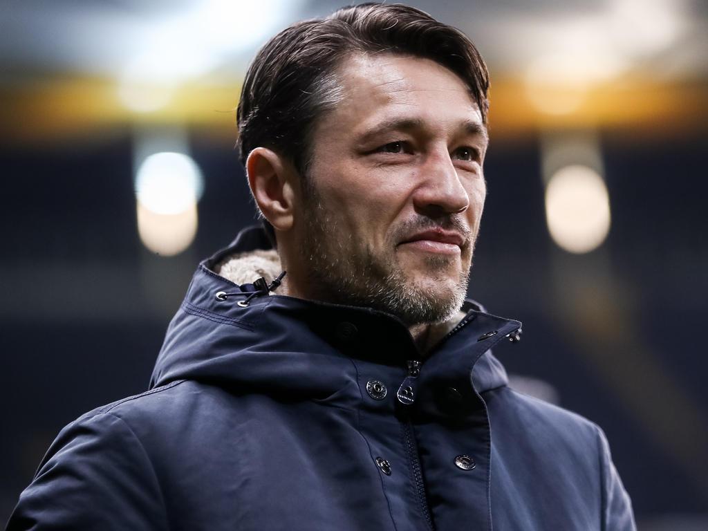 Konnte zufrieden sein: Eintracht-Coach Niko Kovac
