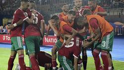 Marruecos sacó tres puntos con sólo una diana.