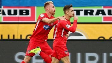 Nikola Dovedan (r.) wechselt zum 1. FC Nürnberg