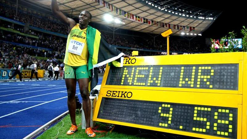 Usain Bolt und seine Fabelzeit