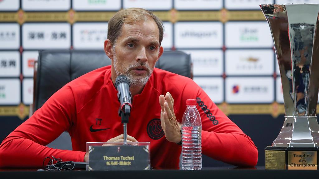 Thomas Tuchel beklagt die hohe Belastung seiner Spieler