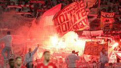 Ein Kölner Fan hatte im Spiel gegen Borussia Mönchengladbach einen Böller geworfen