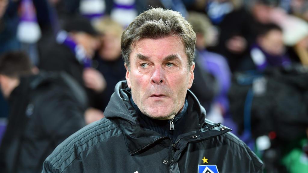 Dieter Hecking will mit dem HSV aufsteigen