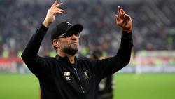 Jürgen Klopp freut sich über den Titel