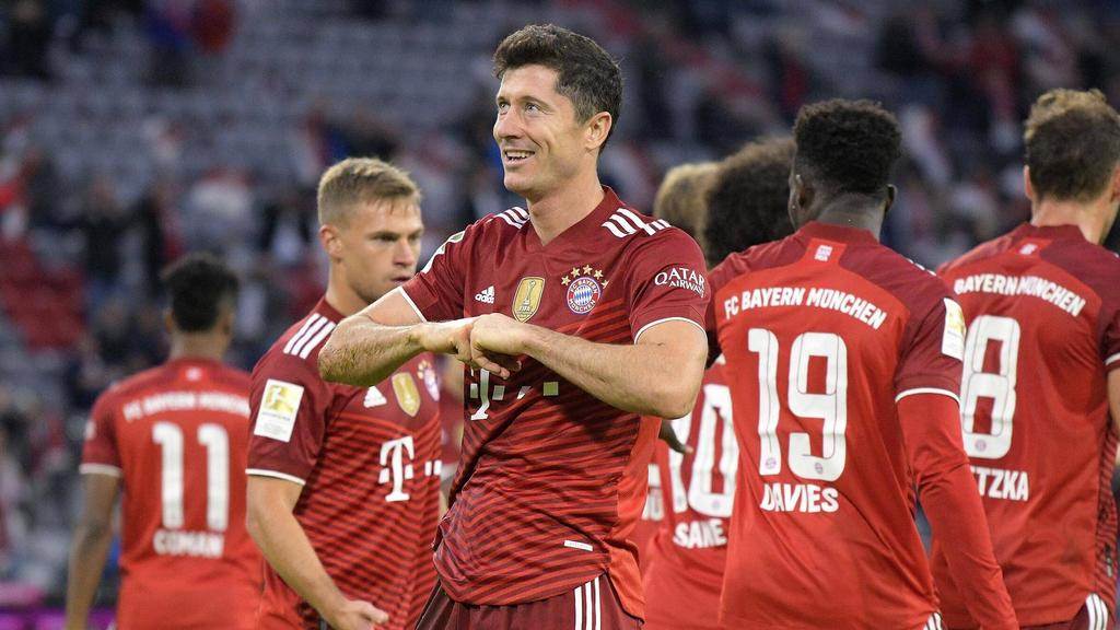 Knackt Robert Lewandowski mit dem FC Bayern auch den Heim-Tore-Rekord?