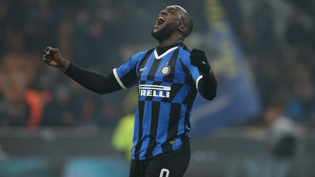 Romelu Lukaku traf im Derby für Inter Mailand