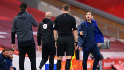 Frank Lampard (r.) hat auf die Aussagen von Jürgen Klopp reagiert