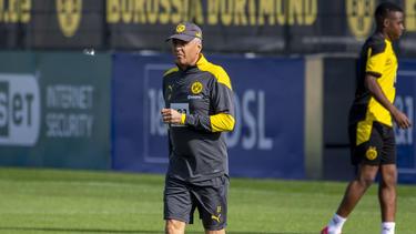 Will mit dem BVB den DFB-Pokal gewinnen: Lucien Favre