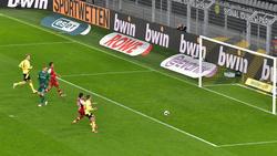 Erling Haaland bereitete einen BVB-Treffer von Felix Passlack vor