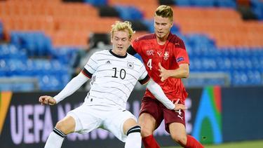 Julian Brandt vom BVB konnte gegen Tschechien nicht überzeugen