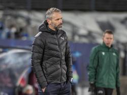 """Gladbach-Coach Marco Rose war dann doch noch """"stolz auf die Jungs"""""""