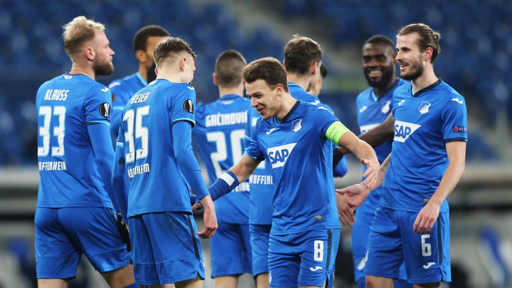 Hoffenheim steht in der nächsten Runde der Europa League
