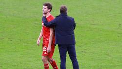 Fehlt dem FC Bayern noch in den Spielen gegen Lazio Rom und den 1. FC Köln: Thomas Müller (l.)