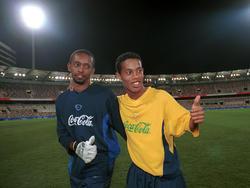Helton & Ronaldinho in Brasiliens Olympiaauswahl 2000