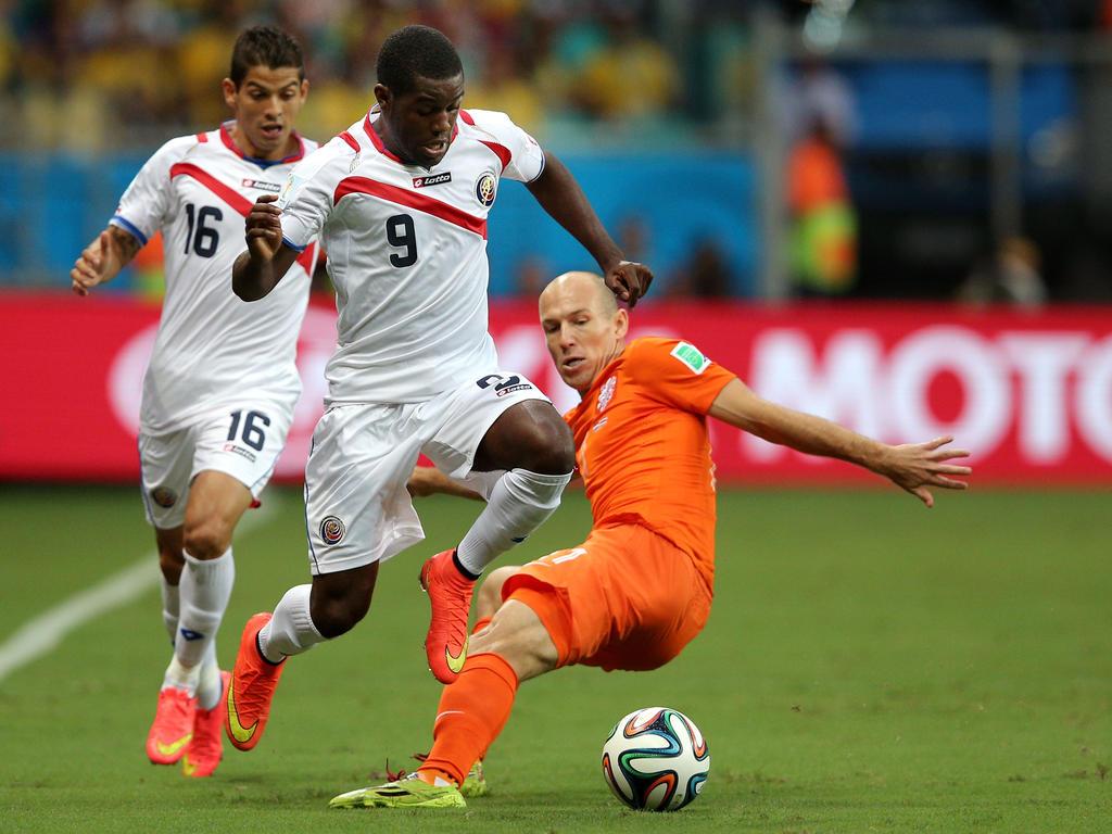 El joven atacante costarricense quiere hacer una buena Copa Oro. (Foto: Getty)