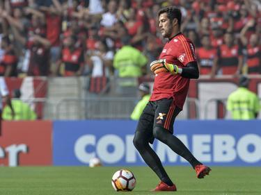 Julio Cesar se despidió de la hinchada de Flamengo. (Foto: Imago)