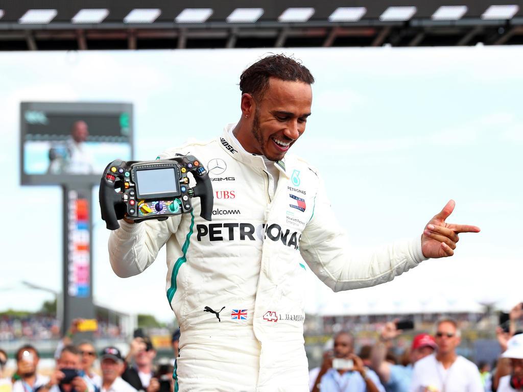 Lewis Hamilton war der große Gewinner beim Frankreich-Comeback der Formel 1