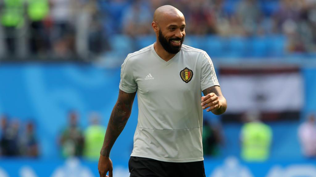 Thierry Henry fuhr mit Belgien als Co-Trainer zur WM