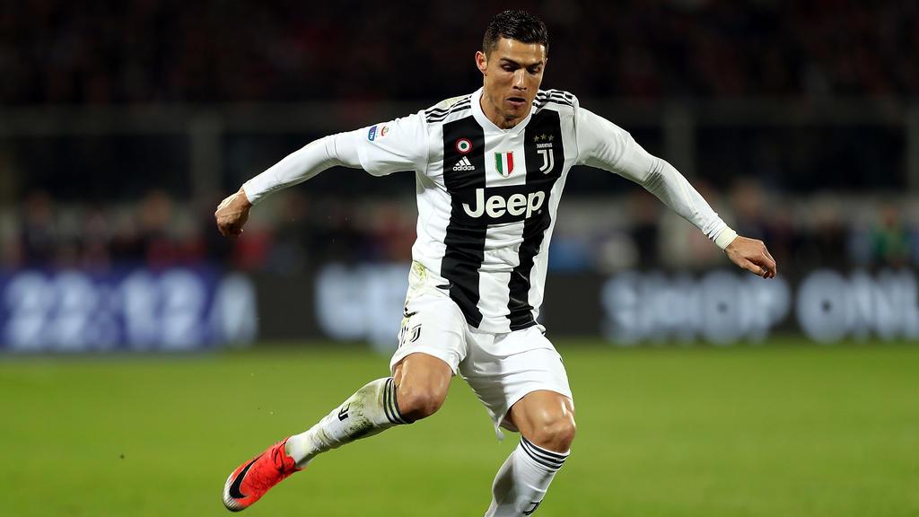 Cristiano Ronaldo schwimmt mit Juventus auf einer Erfolgswelle