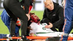 Verletzte sich beim Gastspiel seines Klubs Saint-Étienne in Bordeaux: Ex-BVB-Verteidiger Neven Subotic