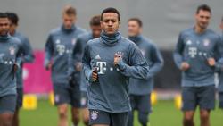 Thiago dreht wieder Runden auf dem Trainingsplatz
