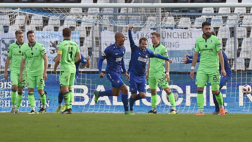 Karlsruher SC gewinnt Drittliga-Kracher gegen 1860 München