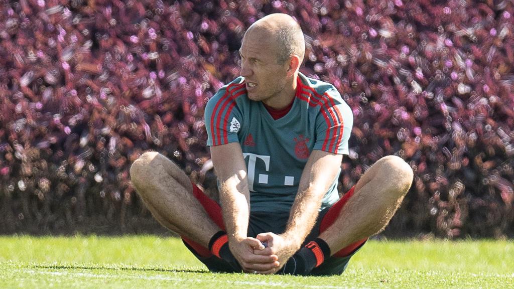 Arjen Robben könnte seine Karriere in Italien beenden