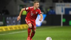 Joshua Kimmich vom FC Bayern soll das Interesse des FC Barcelona geweckt haben