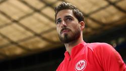 Kevin Trapp ist von PSG an Eintracht Frankfurt verliehen