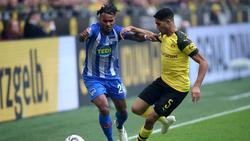 Valentino Lazaro (li.) hat über das Spiel gegen den BVB gesprochen