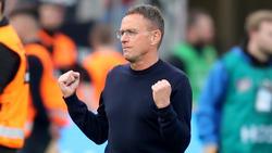 Ralf Rangnick glaubt an einen Sieg von RB Leipzig gegen den VfL Wolfsburg