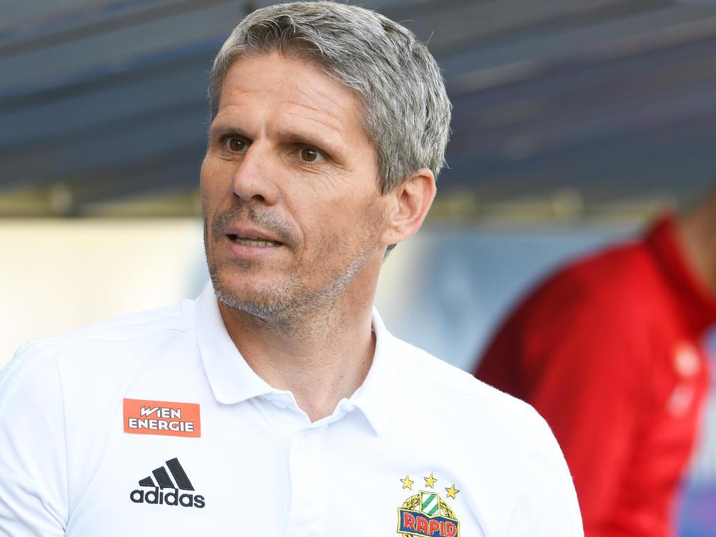 Für Rapid-Coach Kühbauer ist das Ziel