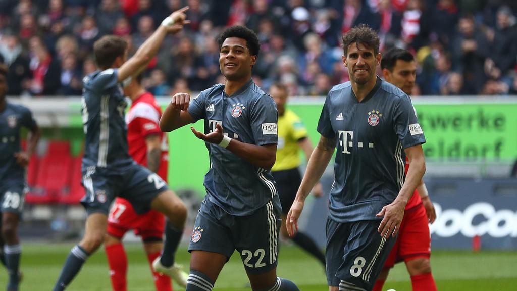 Serge Gnabry ist beim FC Bayern voll durchgestartet