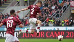 Piatek mantuvo las opciones del Milan a jugar Champions. (Foto: Getty)